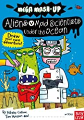 Draw your own adventure!These books take great subjects for boys and combine them into short, bonkers, and funny stories that are incredibly easy to read. The illustrations are bold and crazy, and there's plenty of space left on each page — t...