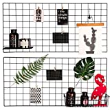 Best Walls - Mesh Grid Panel, Rumcent Grid Photo Frame Picture Review