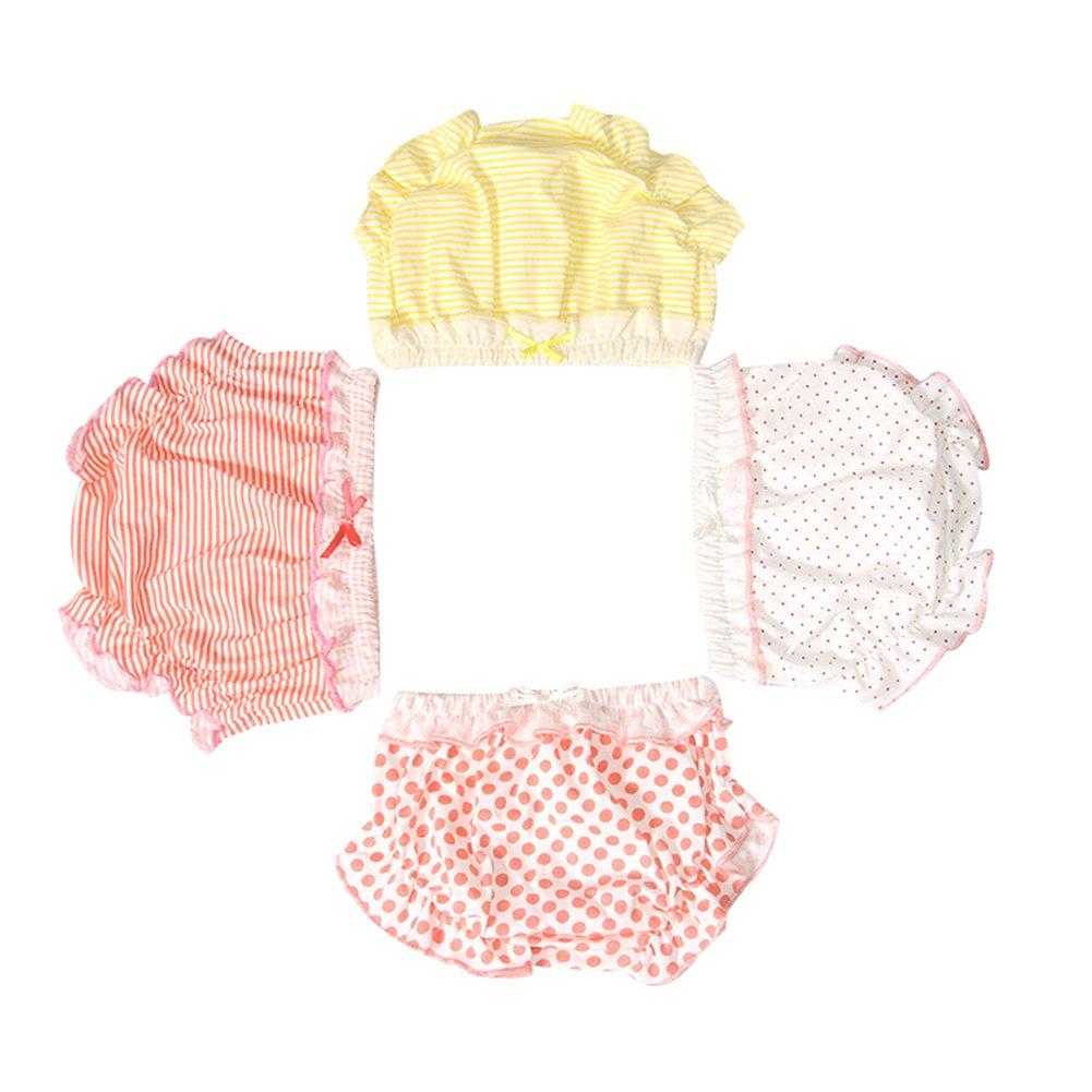 LOSORN ZPY Baby M/ädchen Unique Unterhosen Mit R/üschen G/ünstig 3Pcs Kinder Untew/äsche