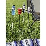 Sunnydaze Set of 4 Heavy Duty Outdoor Drink Holder