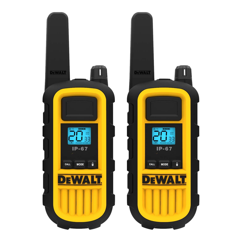 DeWALT DXFRS800 2W Walkie Talkies Heavy Duty Business Two-Way Radios (Pair) by DEWALT (Image #3)