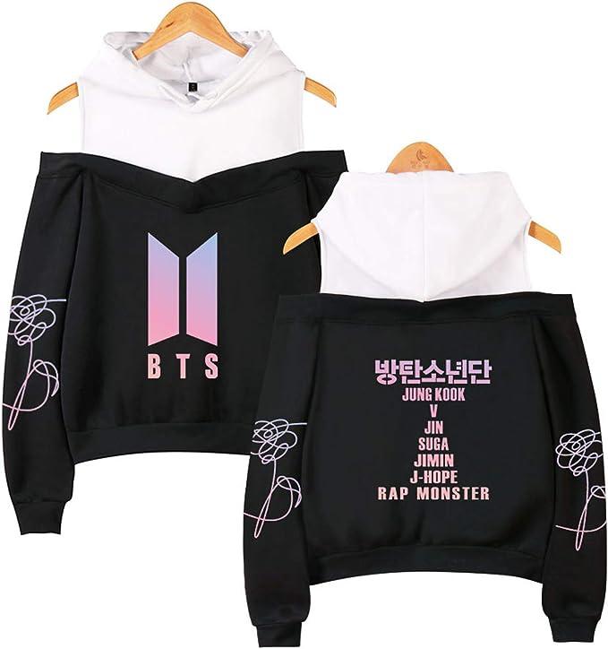 CHAIRAY BTS New Album Love Yourself Her Sweatshirt Jimin Jungkook Suga V Hoodie Sweater