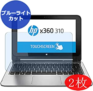"""【2 Pack】 Synvy Anti Blue Light Screen Protector for HP x360 310 G1 11.6"""" Screen Film Protective Protectors [Not Tempered Glass]"""