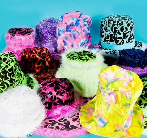 FUNKY HAT ASSORTMENT, Case of 48 by DollarItemDirect