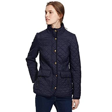 Joules Womens Newdale Quilted Coat At Amazon Womens Coats Shop