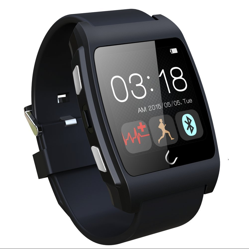 Amazon.com: WEMELODY Smart Wrist Watch Bluetooth 4.0 Fitness ...