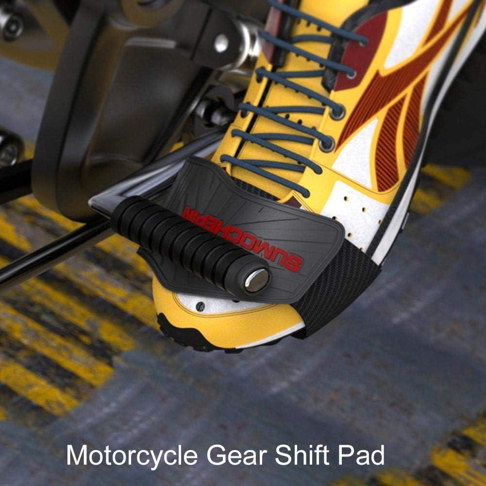 Protezione per Scarpe da Moto Liteness Protezione del Cambio per Moto Regolabile Facile da Riparare Protezione per Scarponi da Equitazione Leggera