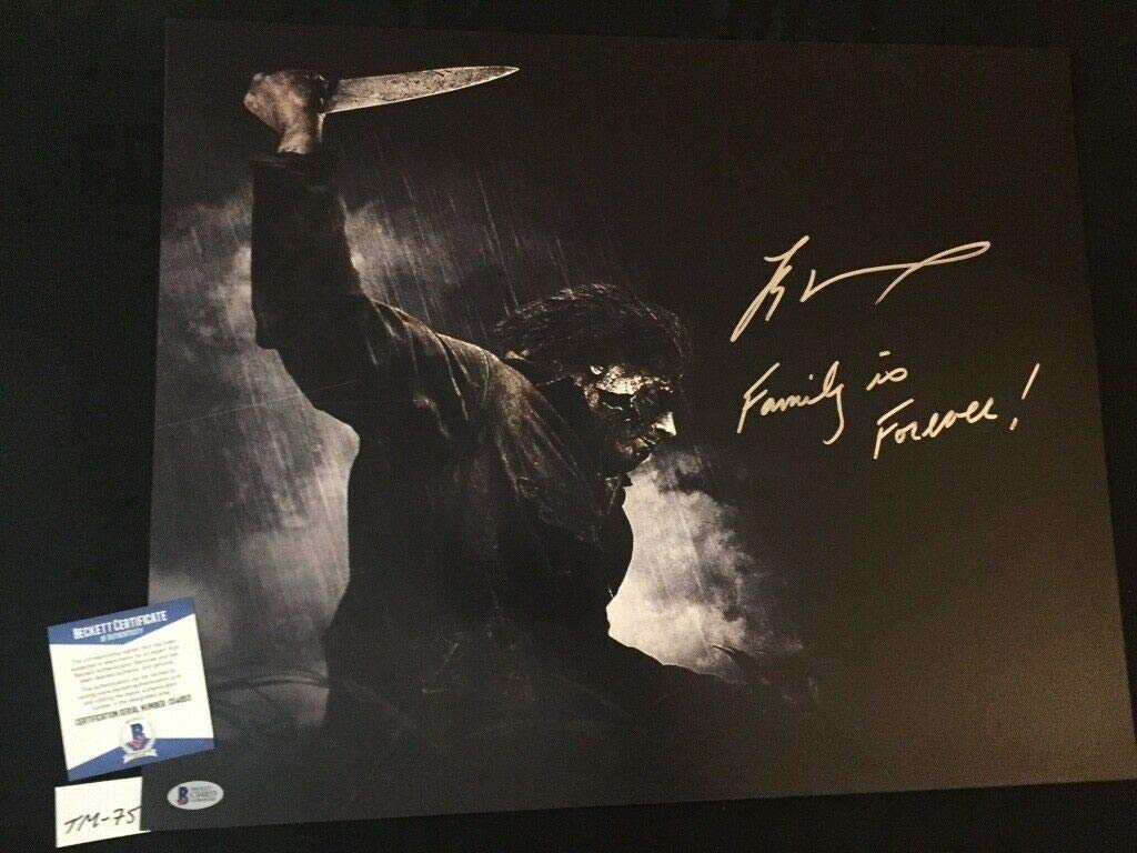 Tyler Mane Rob Zombie Halloween Autographed Signed