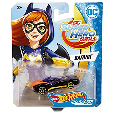 Hot Wheels DC Comics Superhero Girls Batgirl Vehicle: Toys & Games