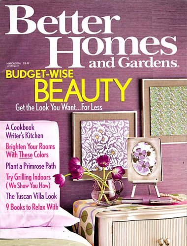 better homes gardens amazoncom magazines - Better Homes And Gardens Interior Designer
