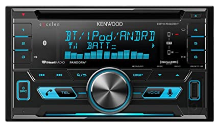 Amazon com: Kenwood DPX592BT Double-DIN In-Dash Car Stereo with High