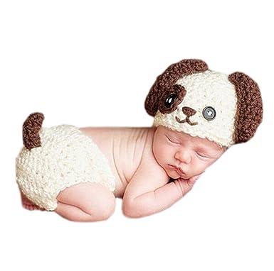 DELEY Bebé Recién nacido Lindo Crochet Kniting de dibujos animados ...