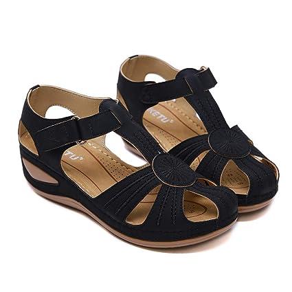 5fcdb431b7833 Amazon.com: ❤ Mealeaf ❤ Women's Ladies Girls Comfortable Ankle ...