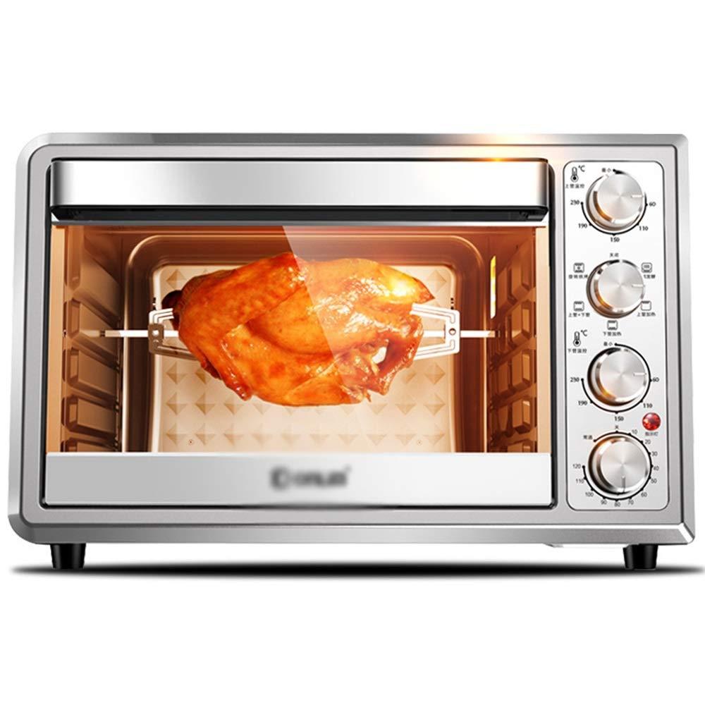 ZCYX ミニオーブン多機能オーブン家庭用多機能自動大容量電気オーブン38 Lミニキッチンオーブン -7487 オーブン B07RT67JTX