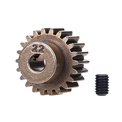Traxxas 2422 22-Tooth Pinion Gear (48 Pitch): Toys & Games