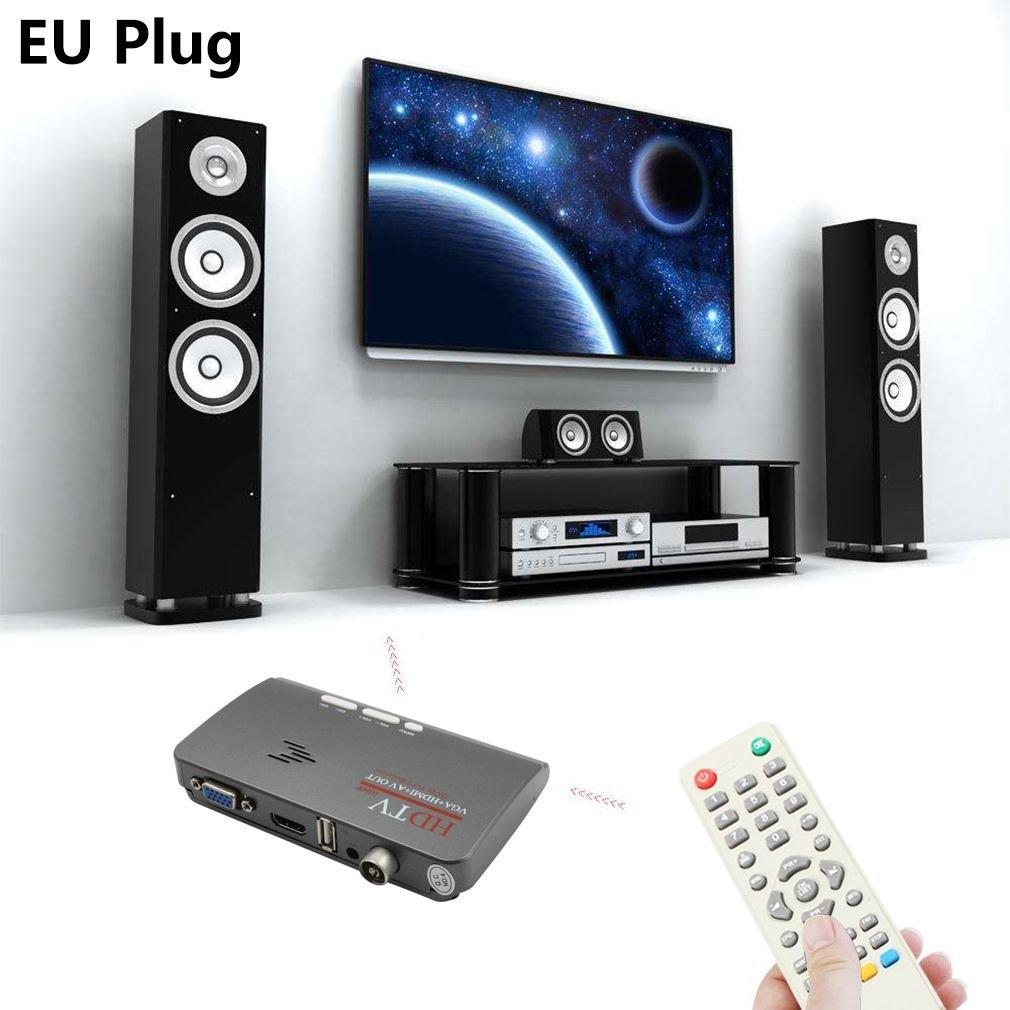T2 DVB T2 TV VGA convertisseur de recepteur de Mode Moligh doll 2018 Nouveau numerique HDMI DVB-T