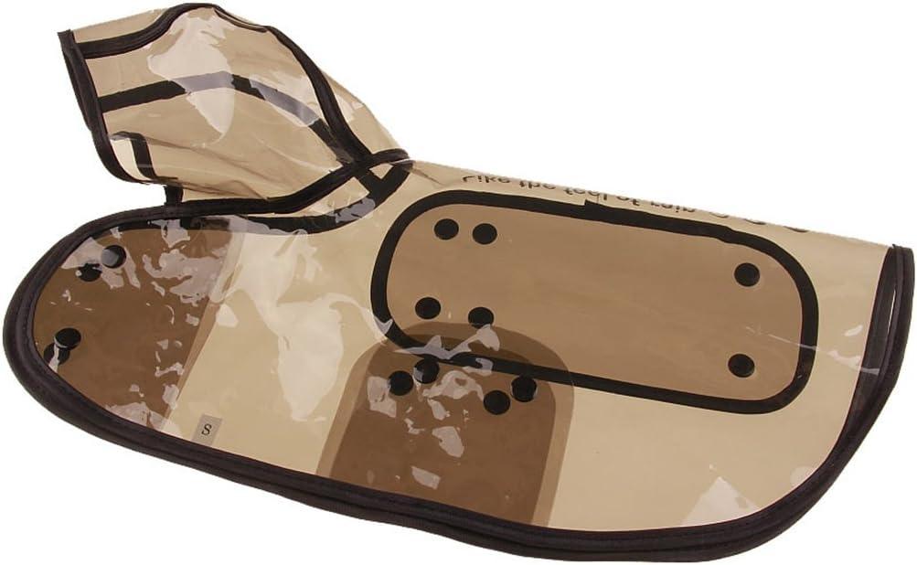 Cane Trasparente Raincoat Pet Abbigliamento Impermeabile Giacca Poncho Rainsuit Piccola Grande Vestiti del Cane Estate Cucciolo Cappotti di Pioggia Regard L