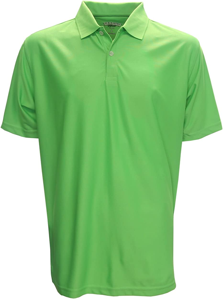 Tabasco Performance Solid Polo Golf