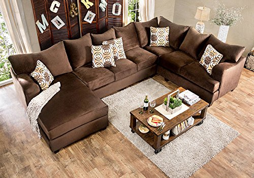 1perfectchoice Wessington Us Made U Shaped Sectional Sofa