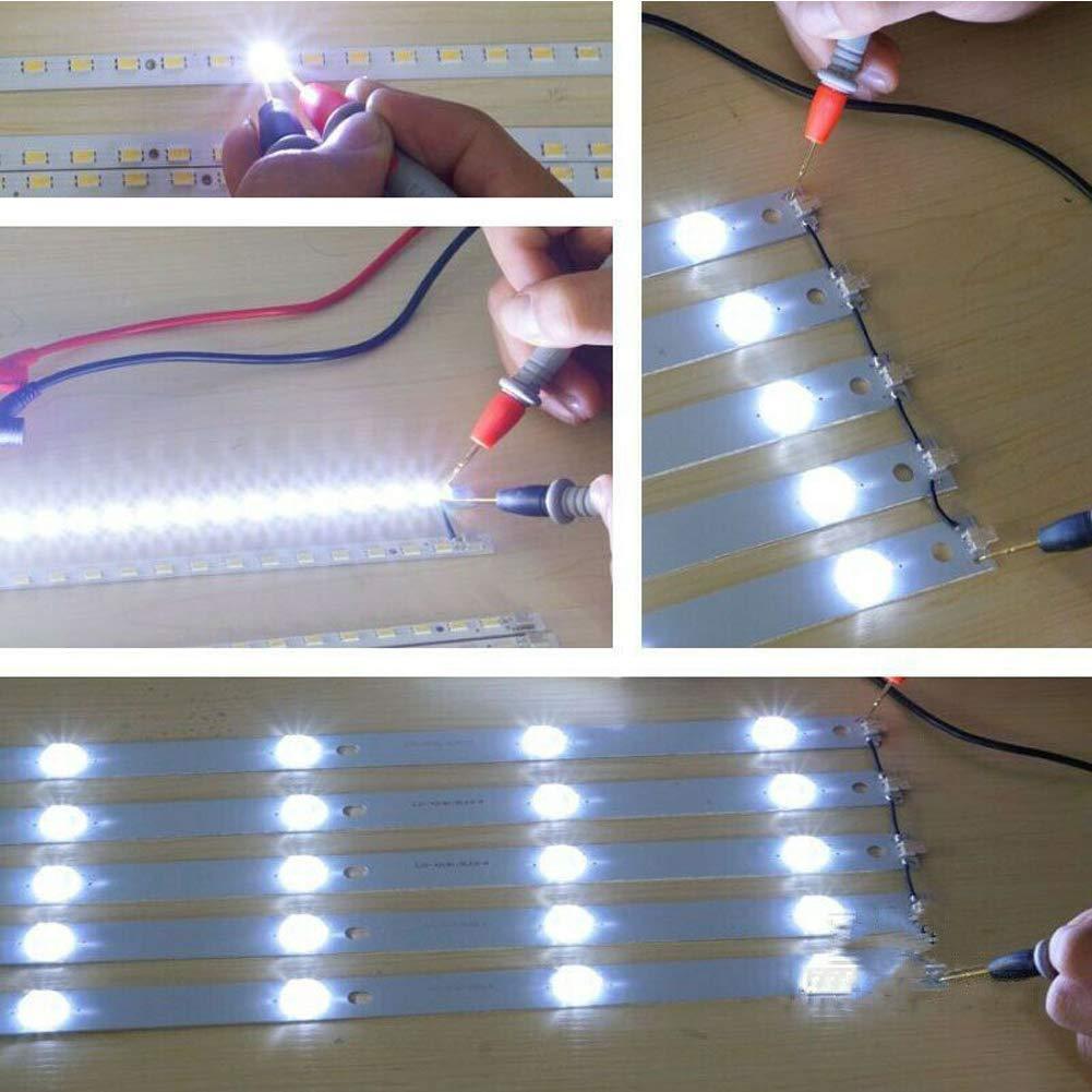Testeur LED num/érique TV ordinateur r/étro/éclair/é ruban lampe perles outil de r/éparation avec broches plaqu/ées or et c/âble dalimentation 300 V tension adaptative 0
