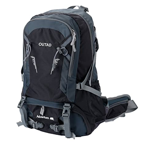 fdc59cf441 Amazon.com   OUTAD Outdoor 40L Travel Backpack for Camping