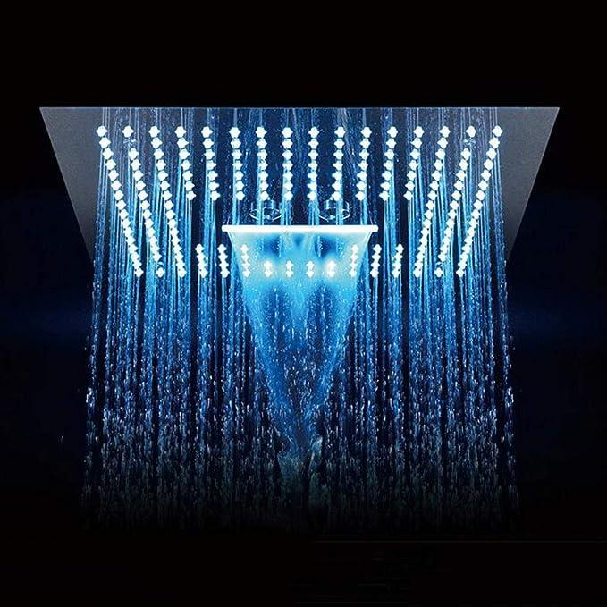 NOBRAND Cabezal de Ducha con luz LED de 7 Colores 7 Colores Led rom/ántico Color Claro Ba/ño de Agua Inicio Ba/ño Ducha Sue/ño Ducha Colores