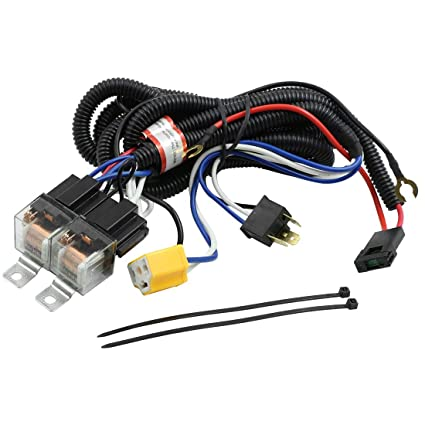 Tremendous Amazon Com Uxcell Dc 12V Car H4 Headlight Bulb Light Relay Wiring Wiring Digital Resources Funapmognl