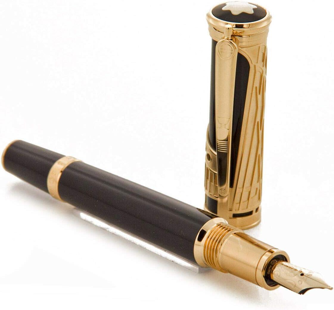 Montblanc Fountain Pen Patron Of Art Edition Henry E Cotton Fabric 4810 Amazon De Bürobedarf Schreibwaren