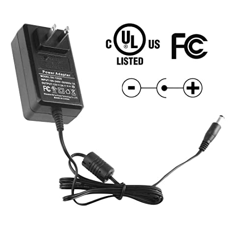 Amazon Com 12v 2a Power Supply Adapter 2 Pack Ac 100 240v To Dc 2 1