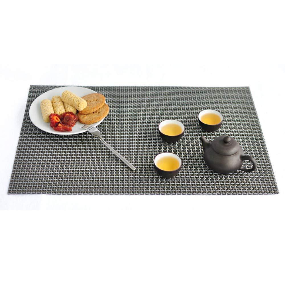 45cm Literie Et Linge De Maison Set De Table Pvc Tapis De Table En
