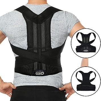 Soporte corrector de postura para la espalda, mejora la postura y ...