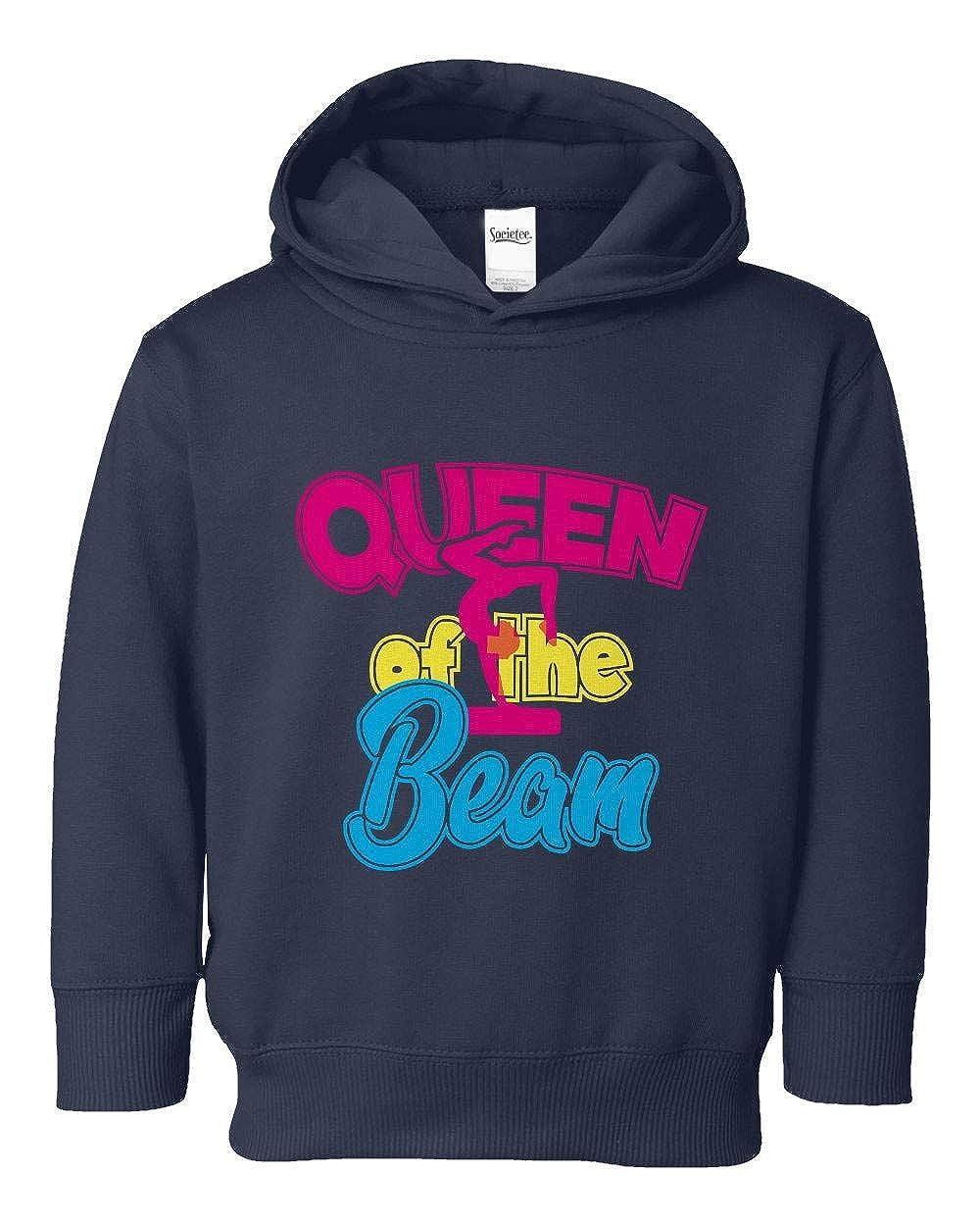 Societee Queen of The Beam Cool Girls Toddler Hooded Sweatshirt