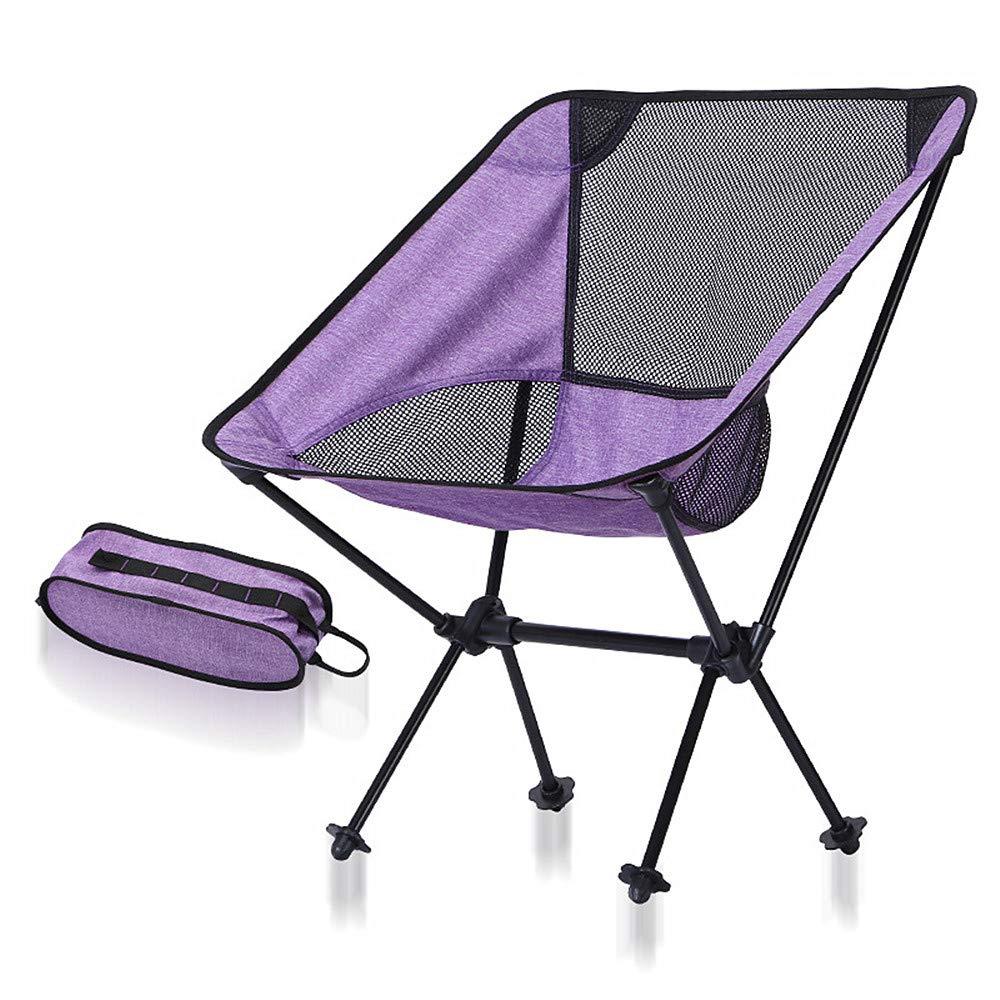 Silla de Camping portátil Silla de salón Plegable portátil ...