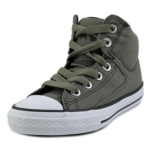 Amazon.com | Converse Chuck Taylor All Star High Street Hi (Little Big Kid) | Sneakers