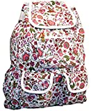Floral Fun Extra Large Fashion Backpack | Women's Blooming Flower Daypack