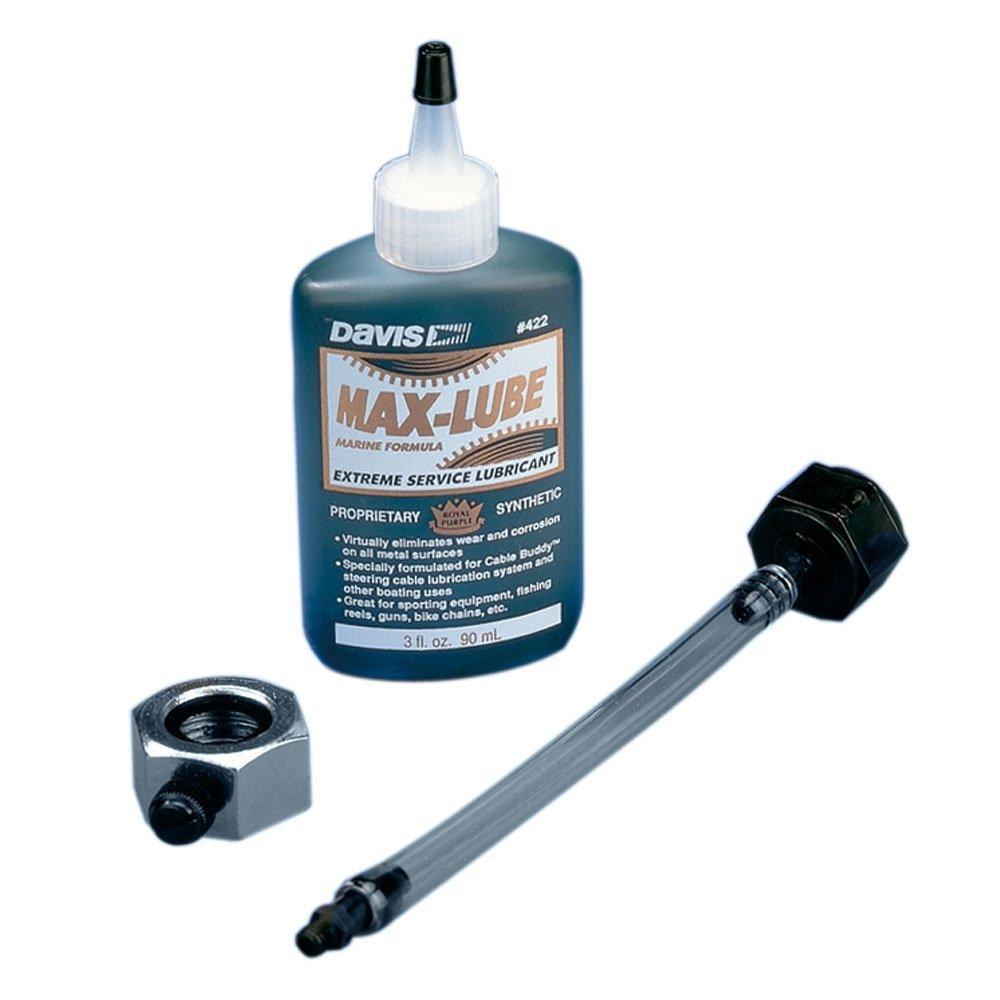 Davis Instruments 420 Cable Buddy I Lube System,1 Pack