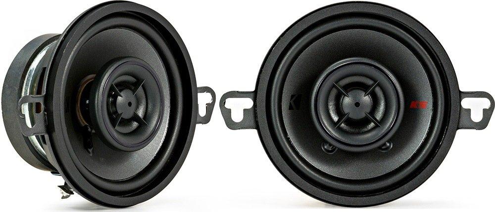 Kicker KSC3504 KSC350 3.5' Coax Speakers with .5' tweeters 4-Ohm 44KSC3504