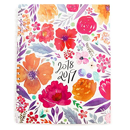 Planner 2018-2019 Monthly Weekly Academic Planner Appointment Book, 8.5 x 11 inches, Premium Paper, Chic Fashionable Elegant Student Planner (AJWP-111) -