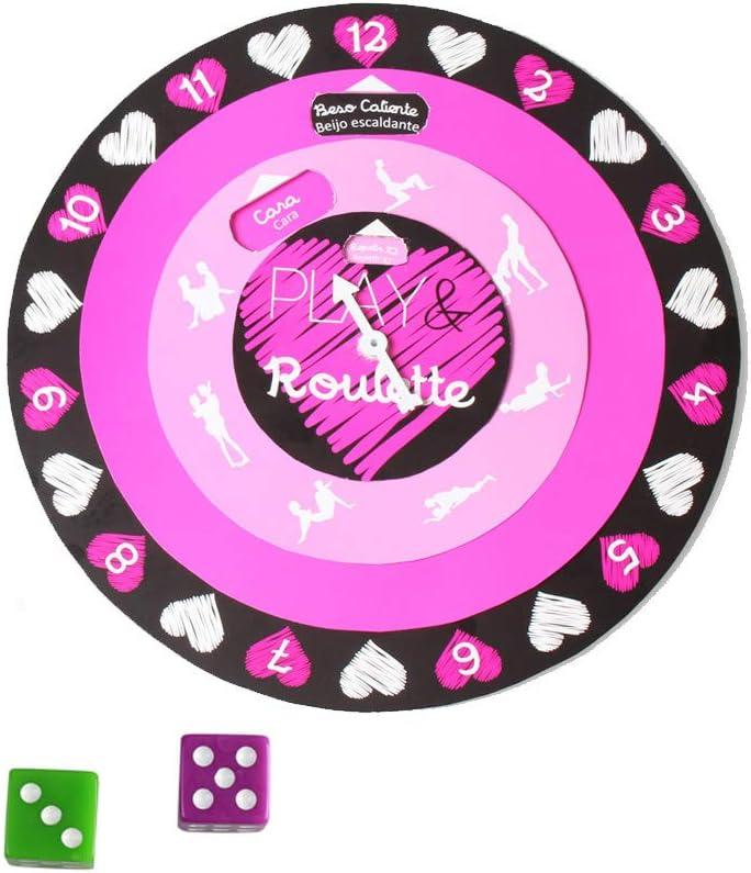 Juego Erótico Parejas Play and Roulette - Secret Play: Amazon.es: Salud y cuidado personal