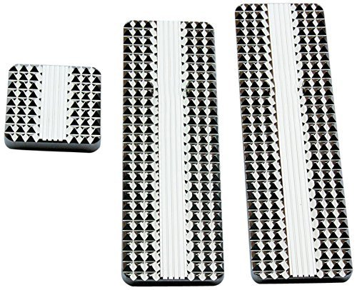 RealWheels RW235-3-KW Diamond Billet Pedals (Set of 3)