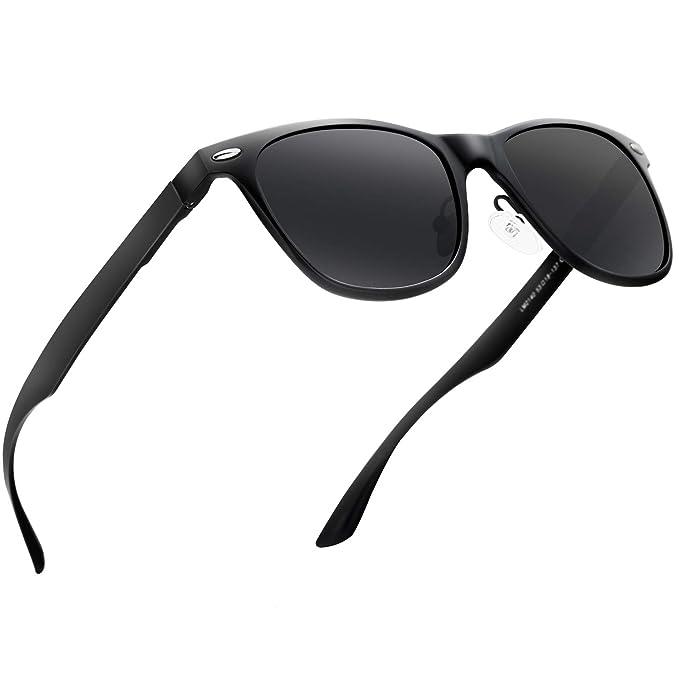 d8c5aacadd Amazon.com  Polarized Sunglasses for Men Retro - FEIDU HD Vision ...