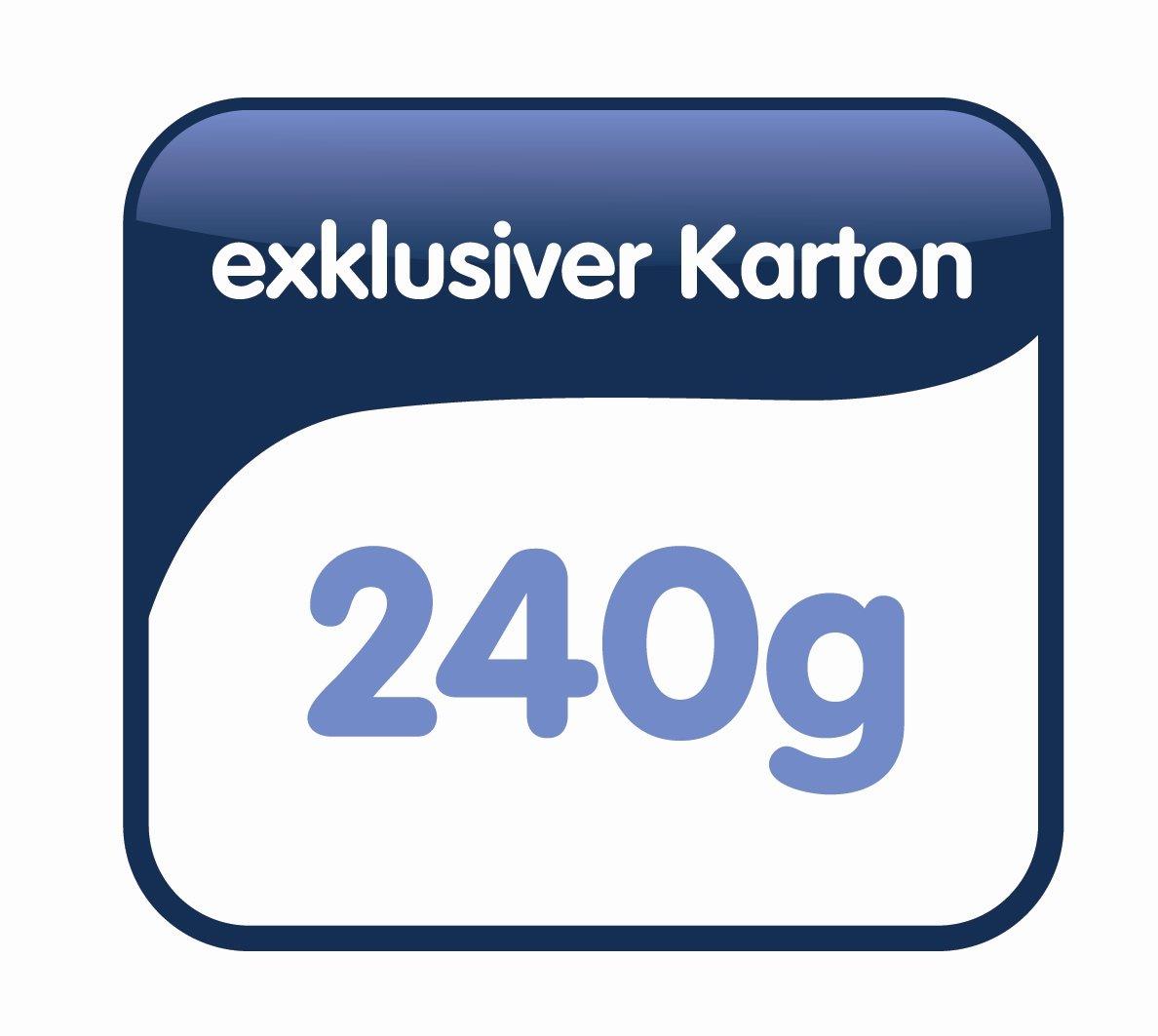 Elba Vertic 1//85443 colore: marrone naturale 250 x 318 x 6 mm confezione da 25 pezzi Cartelle sospese 230 g//m/²