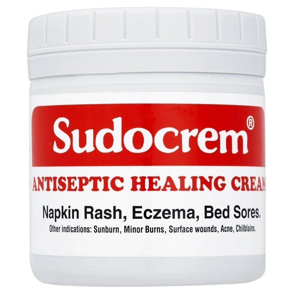 2 x Sudocrem Antiseptic Healing Cream For Napkin Rash, Eczema Or Bed Sore - 125g each