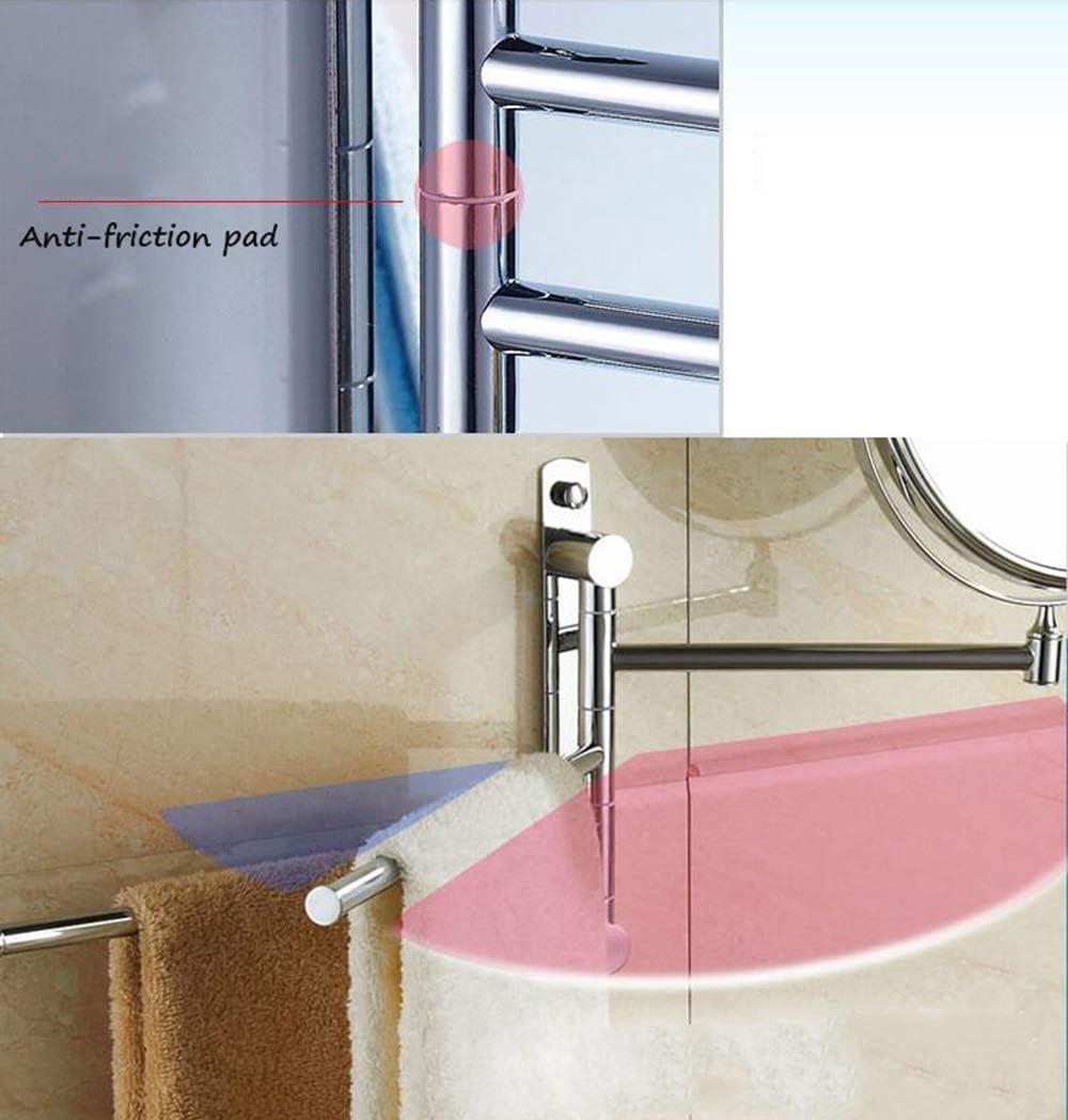 Espejo Giratorio para Colgar en la Pared del baño / 8 Pulgadas retráctil retráctil Espejo de Belleza Espejo para la vanidad Instalación de perforación para Perchero de Acero Inoxidable: Amazon.es: Hogar