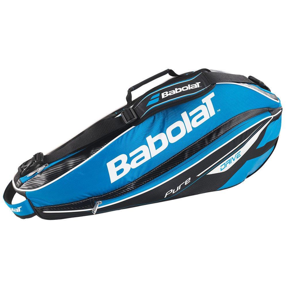 Babolat(バボラ) 2015 ピュアドライブ ラケットバッグ(Pure Drive Blue 3 Pack Bag)BB751107(3本収納可) B00PZ9P8OO