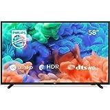 Philips 58PUS6504/12 - Smart TV LED 4K UHD, 58 pulgadas ...