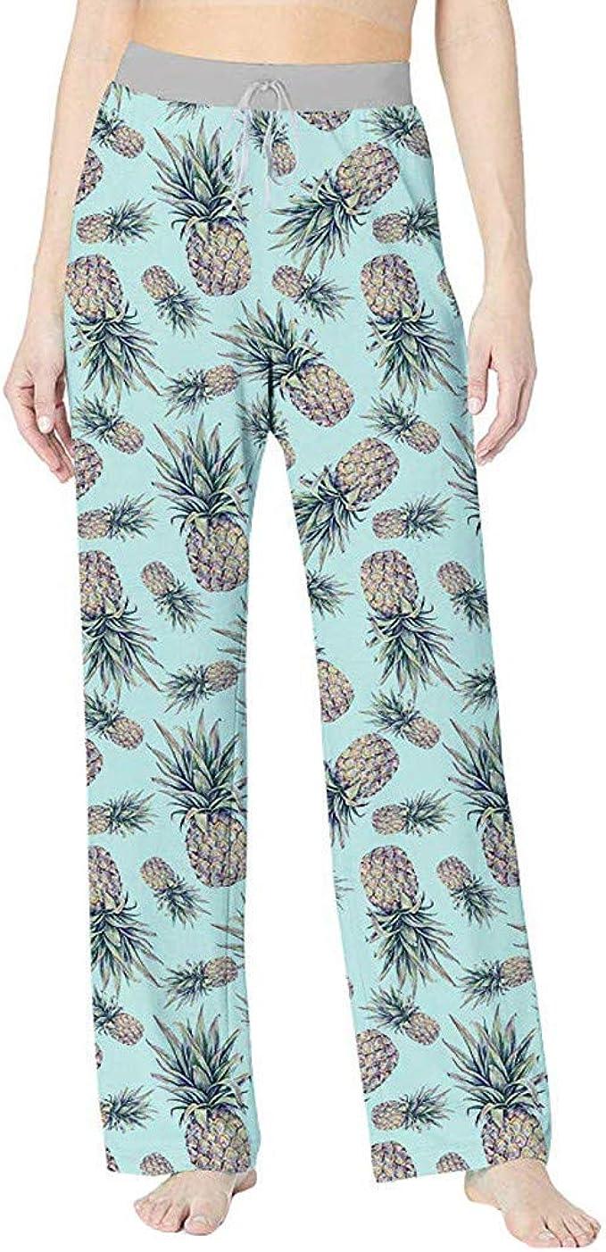 Mosstars Pantalones Yoga Mujeres Ancho Pantalones de Pijama Playa ...