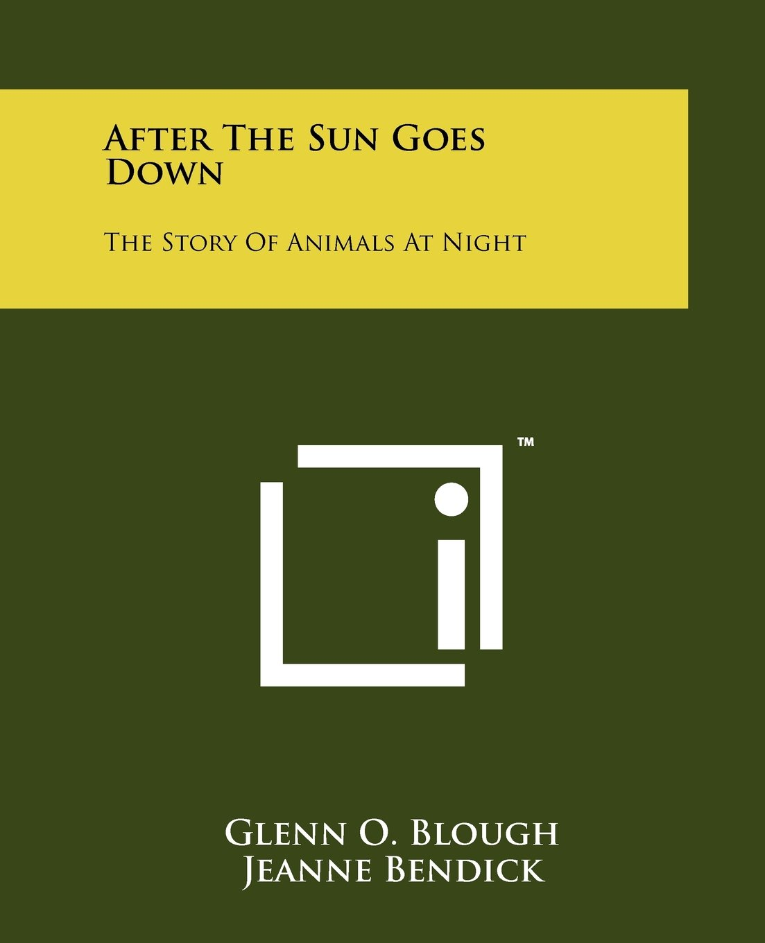 After The Sun Goes Down: The Story Of Animals At Night ebook