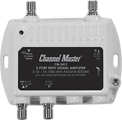 Review Channel Master CM 3412