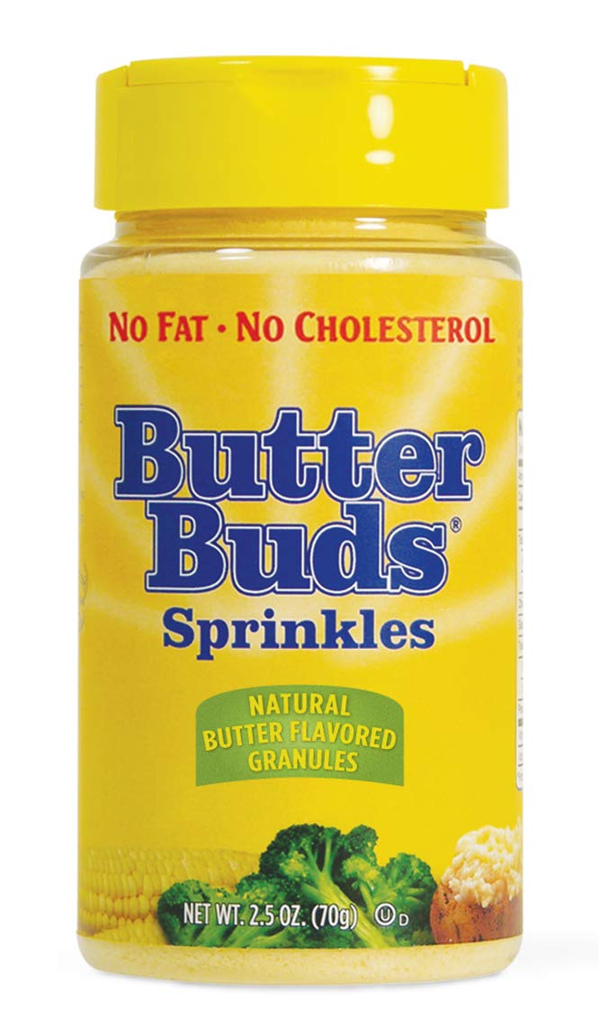 Butter Buds Sprinkles, 2.5-Ounces (12 Count) by Butterbuds